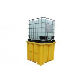 Vasca di stoccaggio e contenimento in polietilene 1 IBC