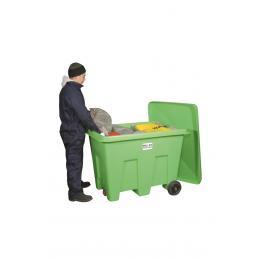 Kit di pronto intervento contro gli sversamenti di tutti i liquidi inquinanti