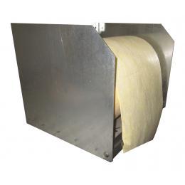 Dispenser da parete per rotoli assorbenti