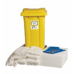 Kit di pronto intervento ambientale oil-only contro gli sversamenti di liquidi inquinanti