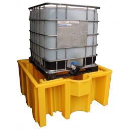 Vasca di stoccaggio e contenimento in polietilene1 IBC extra supporto